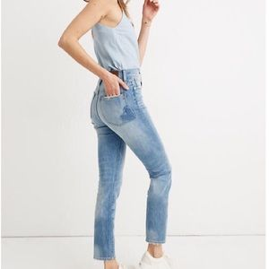 Madewell Perfect Vintage Jean Heart Patch 27 NWT
